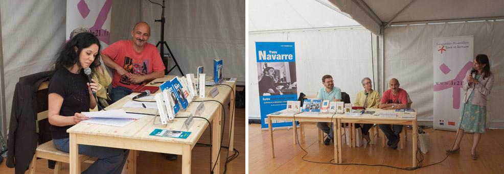 Comédie du Livre conférence Yves Navarre
