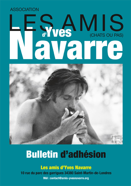 adhesions amis Yves Navarre