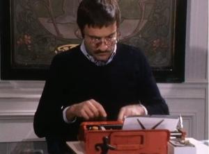Yves Navarre dans La voix au chapitre, RTS 1974.