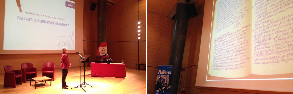 colloque Yves Navarre 2016