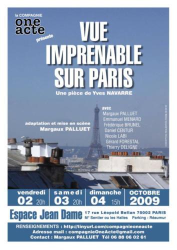 Vue imprenable sur Paris, 2009
